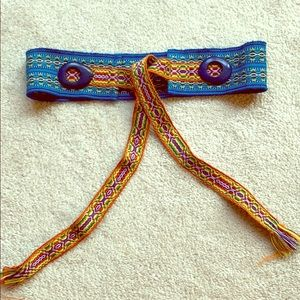 Gorgeous Anthropologie Woven Belt